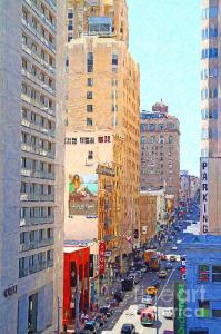 Wingsdomain.com Introduces Painterly Style Photo Art . The Streets Of San Francisco