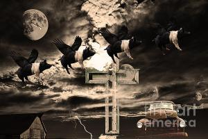 Wingsdomain.com Releases New Surreal Artwork . When Pigs Fly