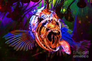 Creatures Of The Deep - Fear No Fish By Wingsdomain Art And Photography