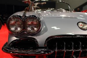 A Hot Summers Night . 1956 Chevrolet Corvette . Automotive Photography . By Wingsdomain.com Art And Photography