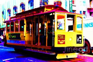 Wingsdomain.com Thanks Art And Photo Collector From Kennesaw, GA Who Purchased A Fine Art Gliclee Print Of San Francisco Cable Car . Photo Artwork