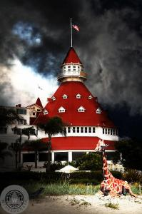 It Happened One Night At The Old Del Coronado By Wingsdomain Art And Photography