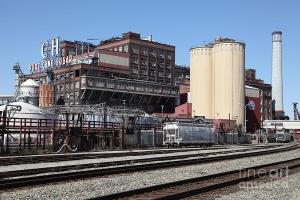 Lost In America . The Old C And H Pure Cane Sugar Plant In Crockett California . By Wingsdomain.com Art And Photography