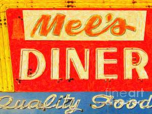 Wingsdomain Thanks Art And Photo Collector From Santa Monica CA Who Purchased A Fine Art Gliclee Print Of Mels Diner
