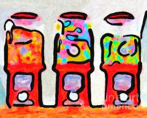 Wingsdomain Thanks Art And Photo Collector From Madison WI Who Purchased A Fine Art Gliclee Print Of Three Candy Machines