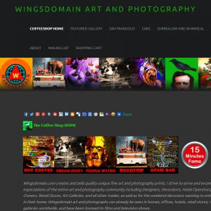 Introducing The New Wingsdomain Art And Photography Website