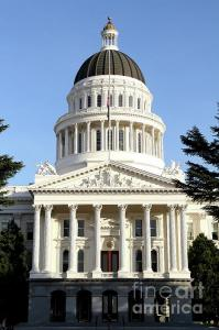 State Of California Capitol Building . By Wingsdomain.com