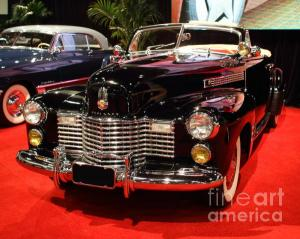 Wingsdomain Thanks Art And Photo Collector From Mandeville LA Who Purchased A Fine Art Gliclee Print Of 1941 Cadillac Series 62 Convertible Coupe . Front Angle