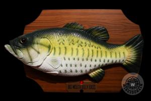 Big Mouth Billy Bass . Kitschy Nostalgia . By Wingsdomain.com Art And Photography