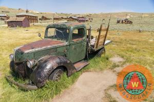 Old Truck At The Ghost Town Of Bodie California By Wingsdomain Art And Photography