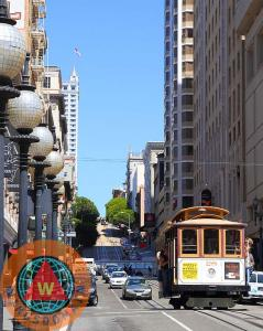 San Francisco Cablecar On Powell Street By Wingsdomain Art And Photography